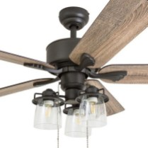 44 Bennett 5 Blade Ceiling Fan With Remote, Light Kit Included 39