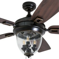 44 Bennett 5 Blade Ceiling Fan With Remote, Light Kit Included 40