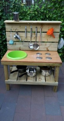 45 Cool And Budget Friendly Projects For A Kid S Play Area #backyardideas Make 15