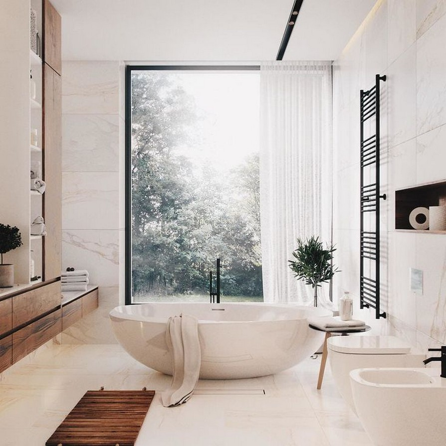49 Luxury Bathrooms And Tips You Can Copy From Them 15