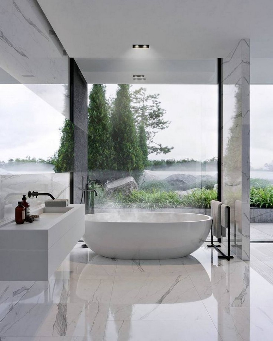 49 Luxury Bathrooms And Tips You Can Copy From Them 48