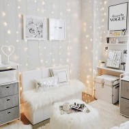 54 Aesthetic Teenage Bedroom Ideas Redecorating On A Budget 24