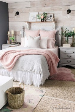 54 Aesthetic Teenage Bedroom Ideas Redecorating On A Budget 53