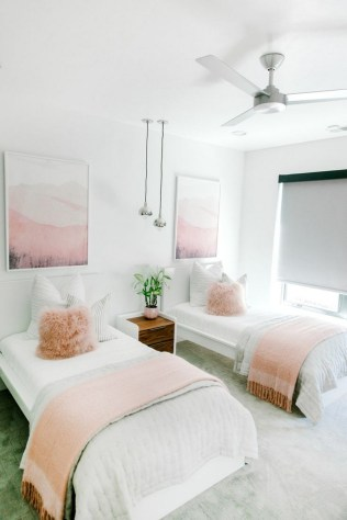 54 Aesthetic Teenage Bedroom Ideas Redecorating On A Budget 54