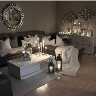 55 Black And Gray Living Room Decorating Ideas 2020 10