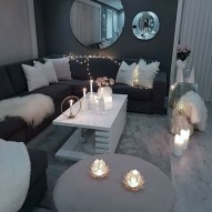 55 Black And Gray Living Room Decorating Ideas 2020 21