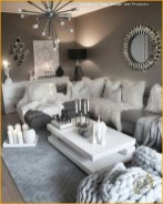 55 Black And Gray Living Room Decorating Ideas 2020 39