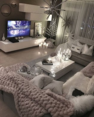 55 Black And Gray Living Room Decorating Ideas 2020 52