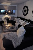 55 Black And Gray Living Room Decorating Ideas 2020 55