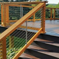 58 Creative Deck Railing Ideas For Inspire What You Want 18