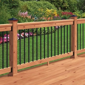 58 Creative Deck Railing Ideas For Inspire What You Want 35