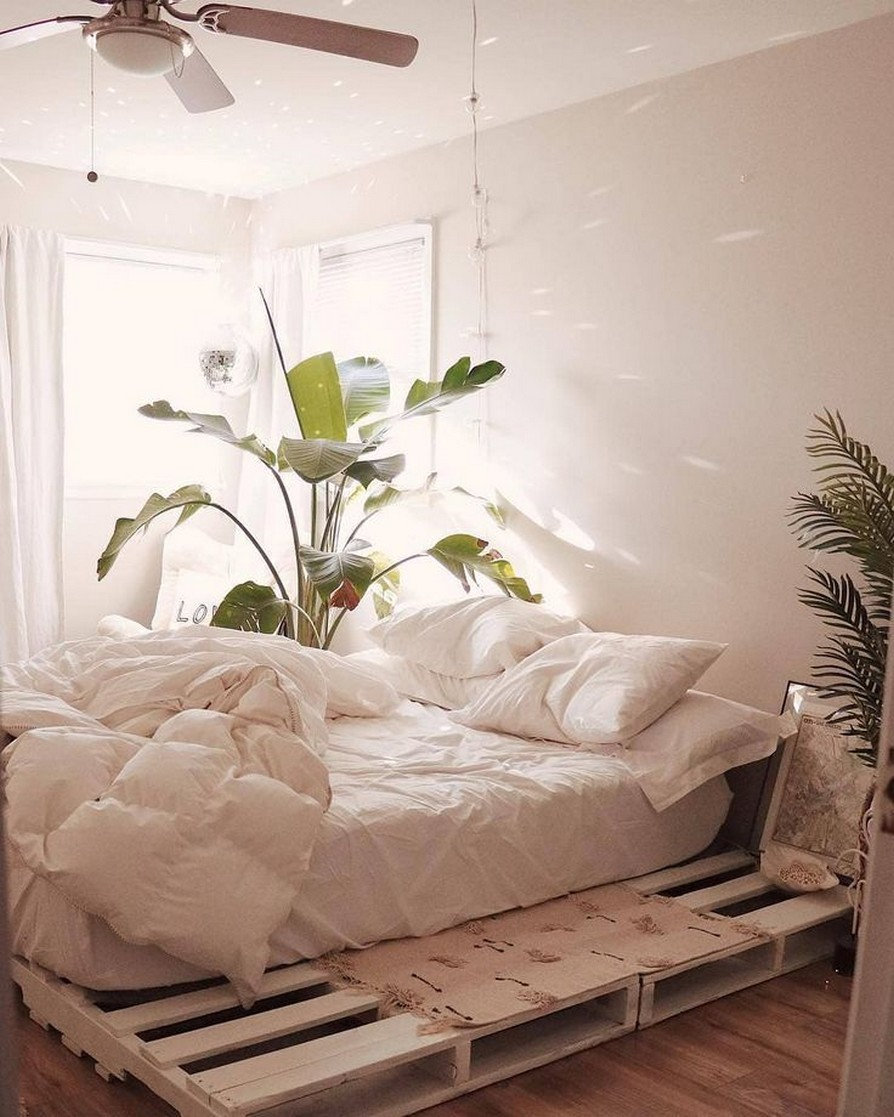 88 Adorable Pallet Bed Ideas You Will Love Crafome 2