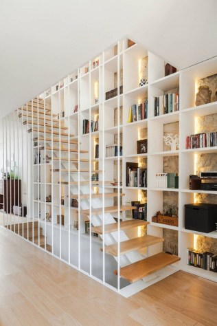 Top 46 Unique Modern Staircase Design Ideas For Your Dream House 35