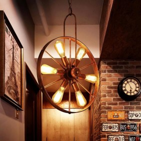 48 Amazing Lamps Selection From DIY Tire Projects 10