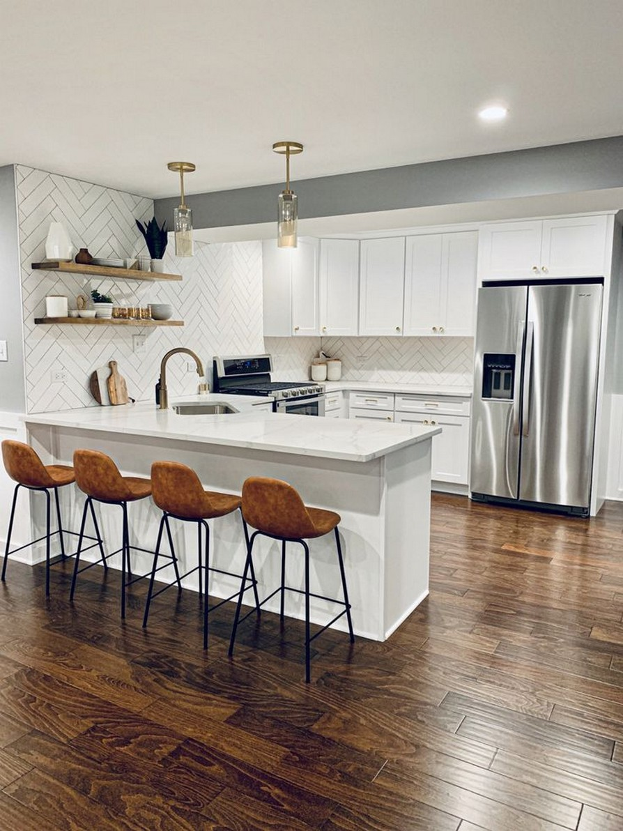 11 Small Kitchen Space & Tips Home Decor 21