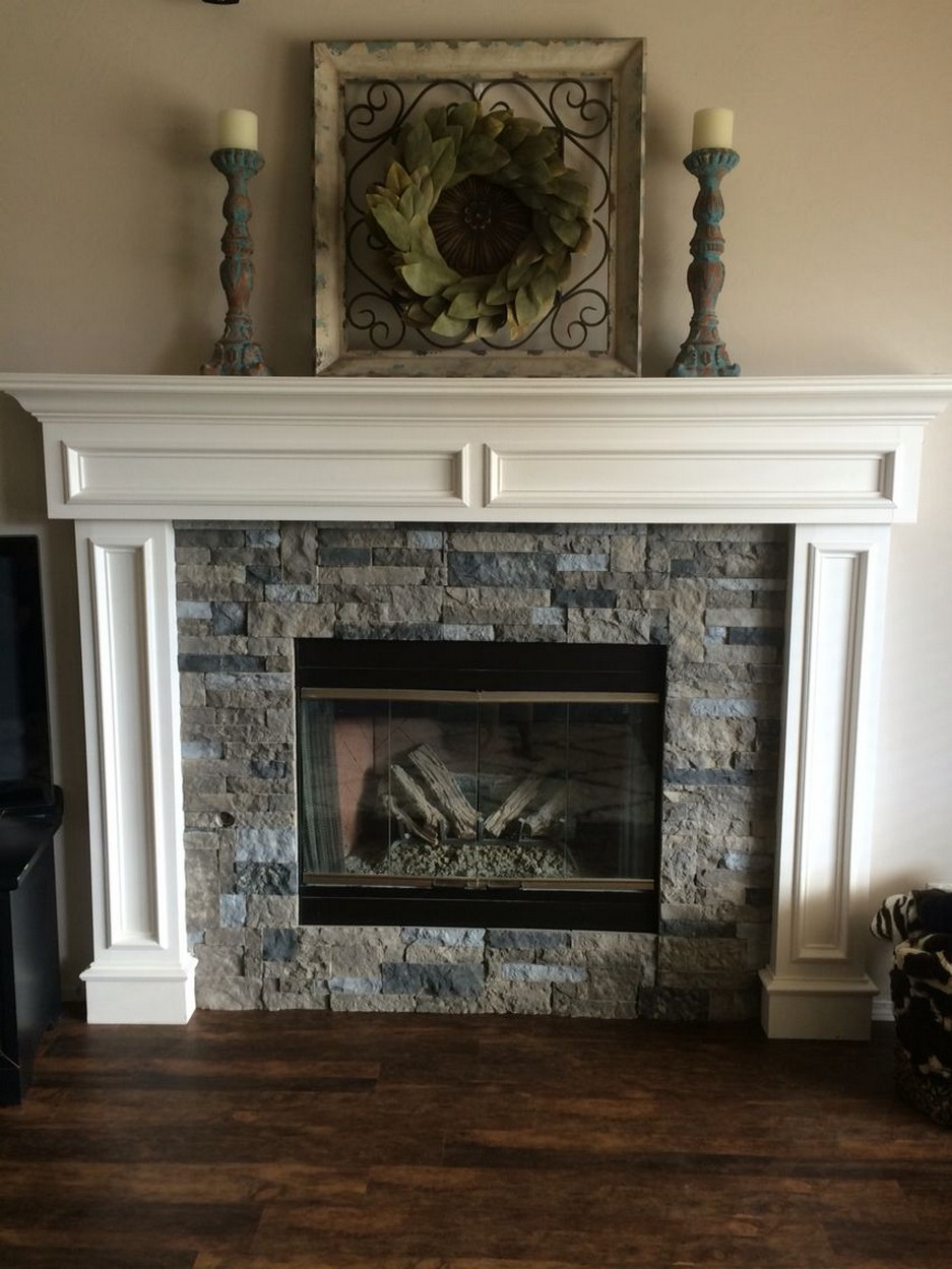 76 Stone Fireplaces The Hearth Is The Heart of The Home 23