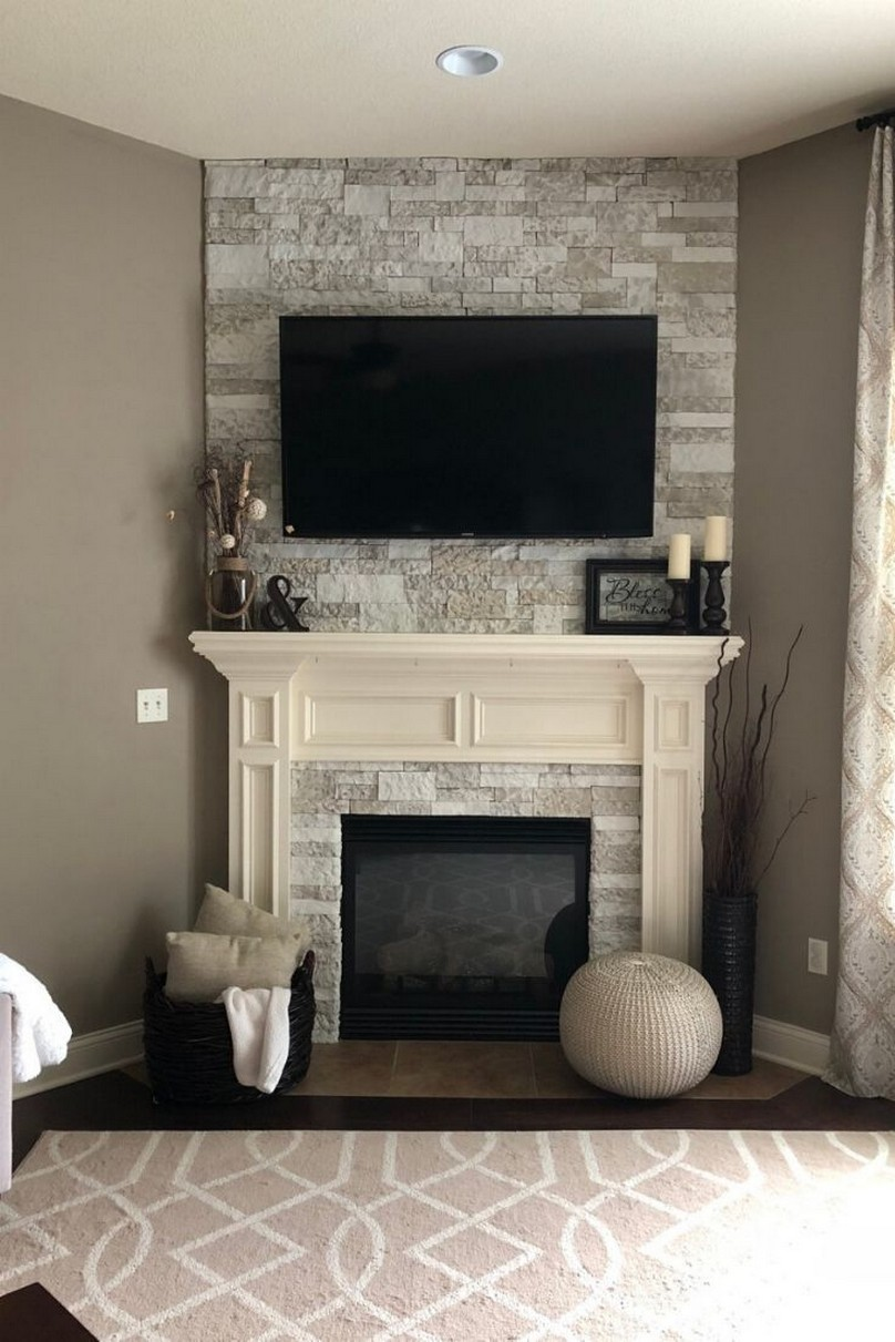 76 Stone Fireplaces The Hearth Is The Heart of The Home 54