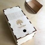ξυλινο κουτί κοπής laser