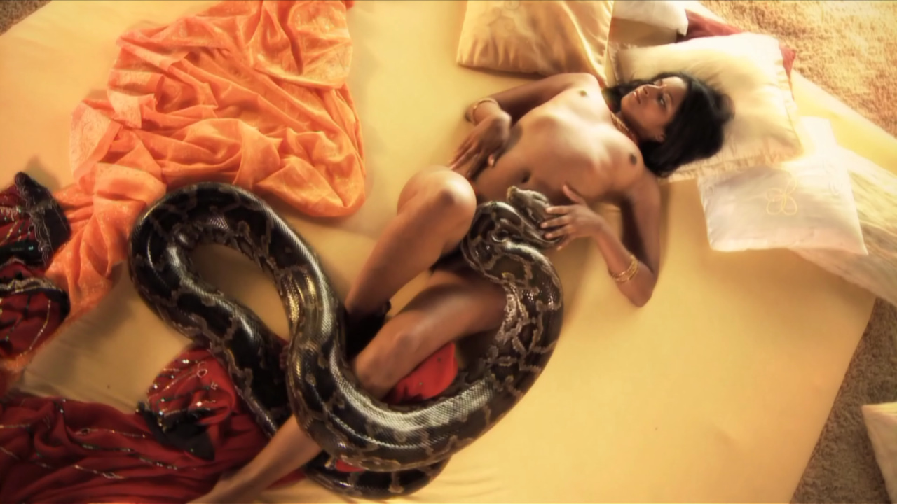 Bollywood Nudes Perfect Body with Snakes
