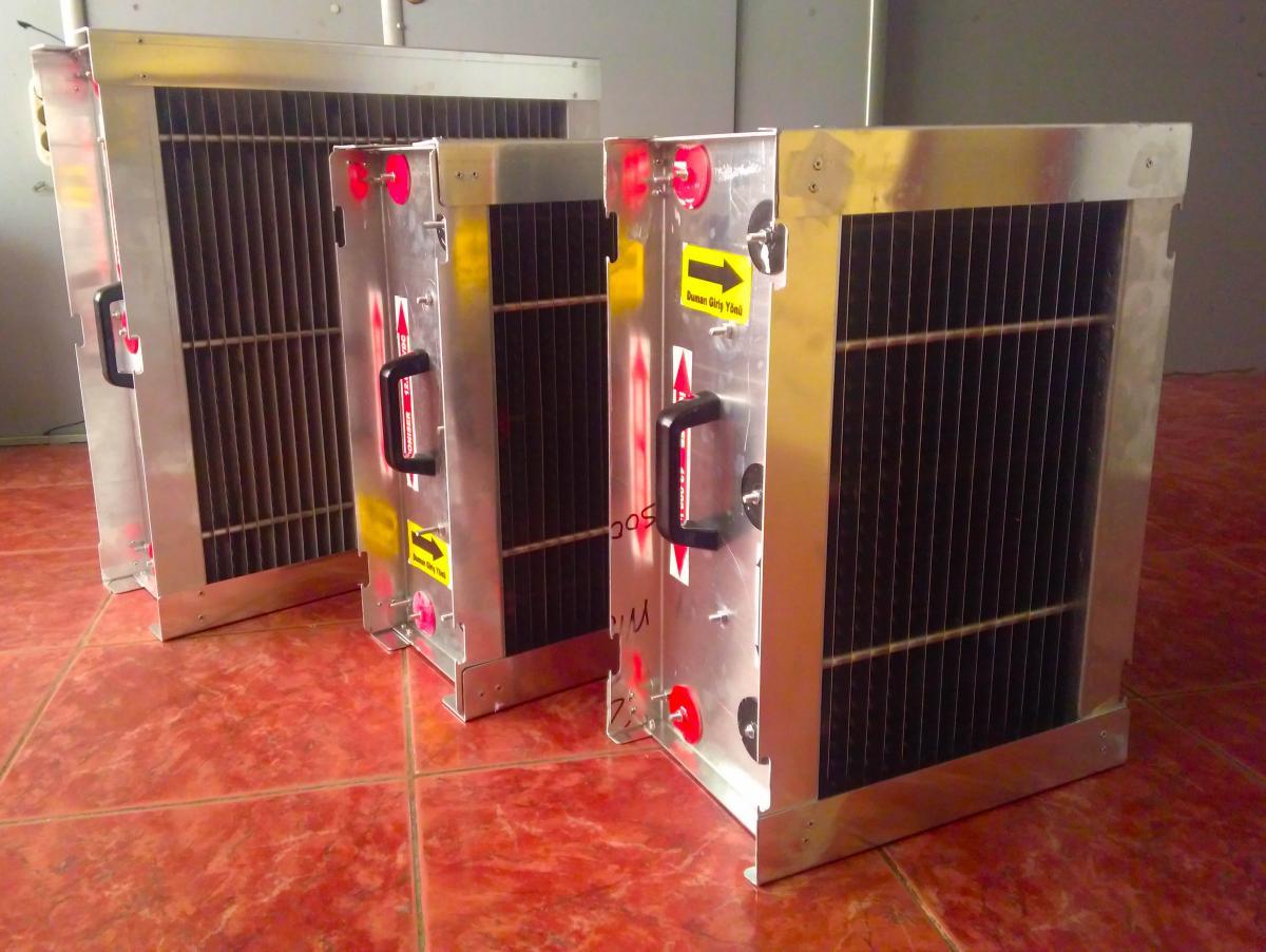 Elektrostatik Baca Filtre Sistemi
