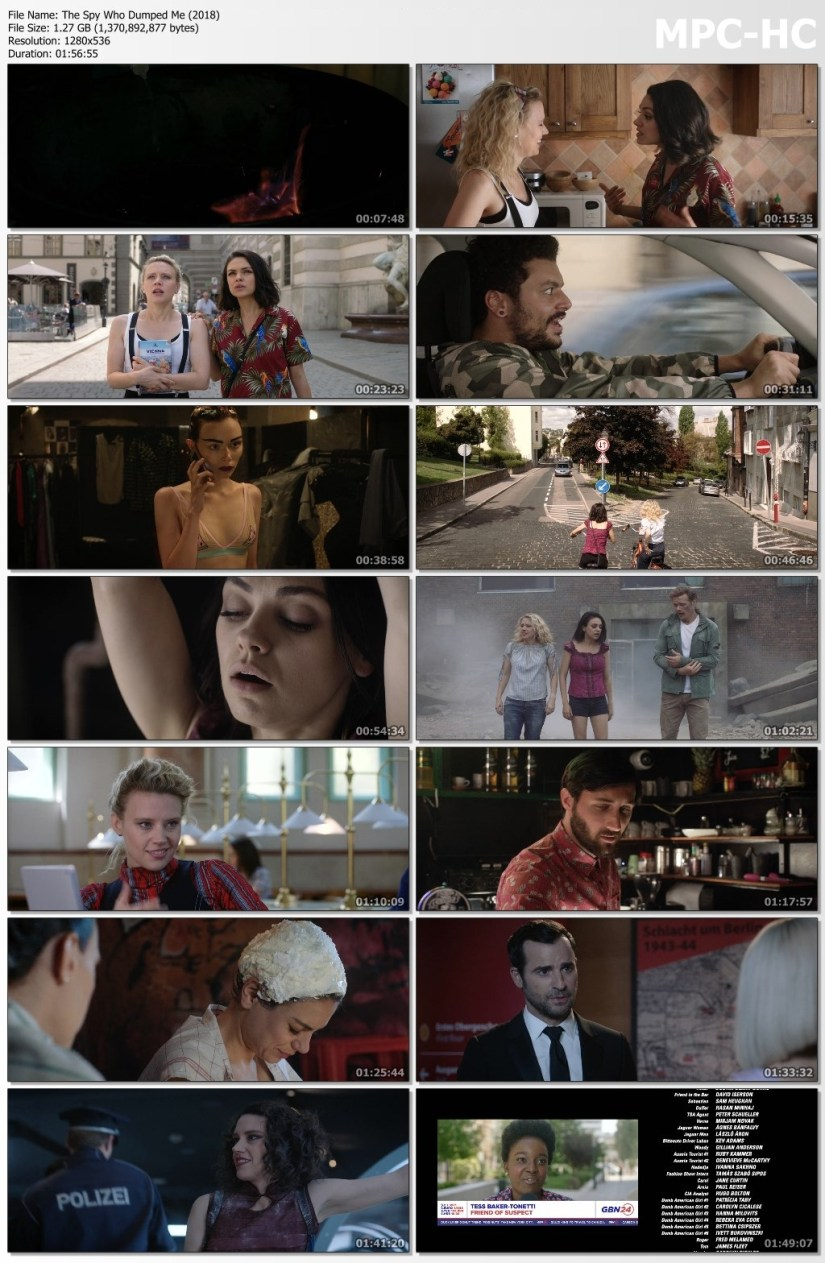Download The Spy Who Dumped Me Full Movie Hindi 450p