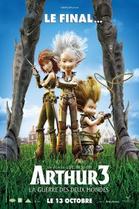 Download Arthur 3 The War of the Two Worlds Full Movie Hindi 720p
