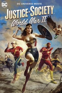 Download Justice Society World War II Full Movie Hindi 720p