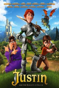 Download Justin and the Knights of Valour Full Movie Hindi 720p