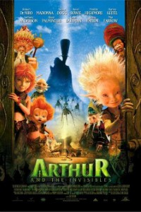 Arthur and the Invisibles (2006) Dual audio 720p HDRip 900MB