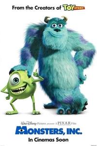 Monsters, Inc. (2001) Full Movie Download Dual Audio (Hindi-English) 720p