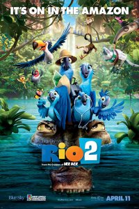 Download Rio 2 (2014) Dual Audio 480p 400MB | 720p 750MB BluRay
