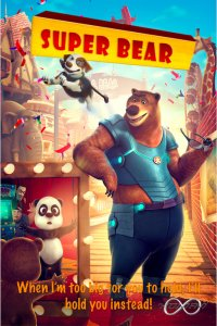 Download Super Bear Full Movie Hindi 720p