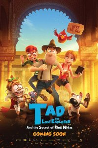 Tad the Lost Explorer and the Secret of King Midas (2017) Download (Hindi-English) 720p
