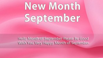 Hello September Quotes and Sayings