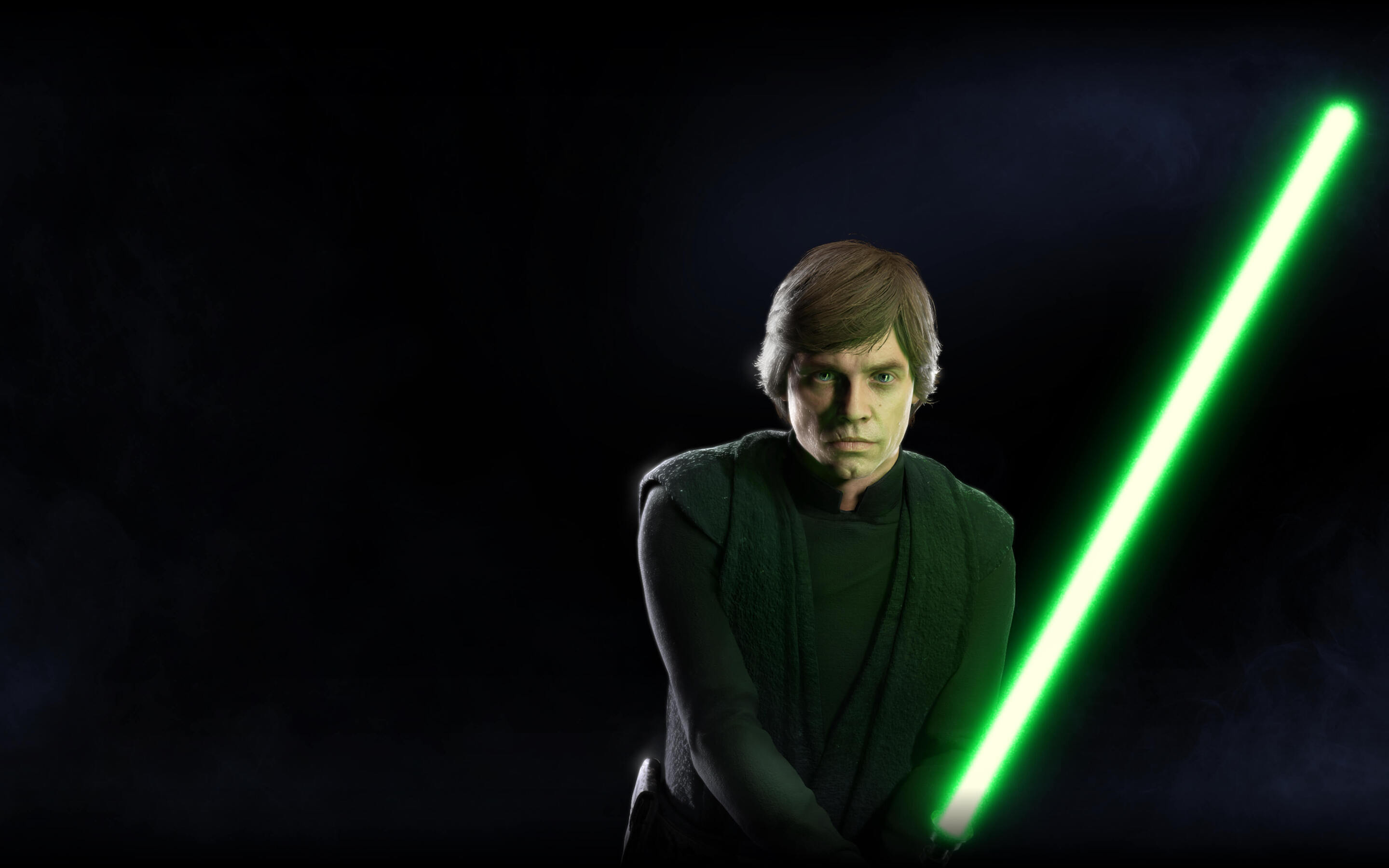 2880x1800 Luke Skywalker Star Wars Battlefront 2 Macbook