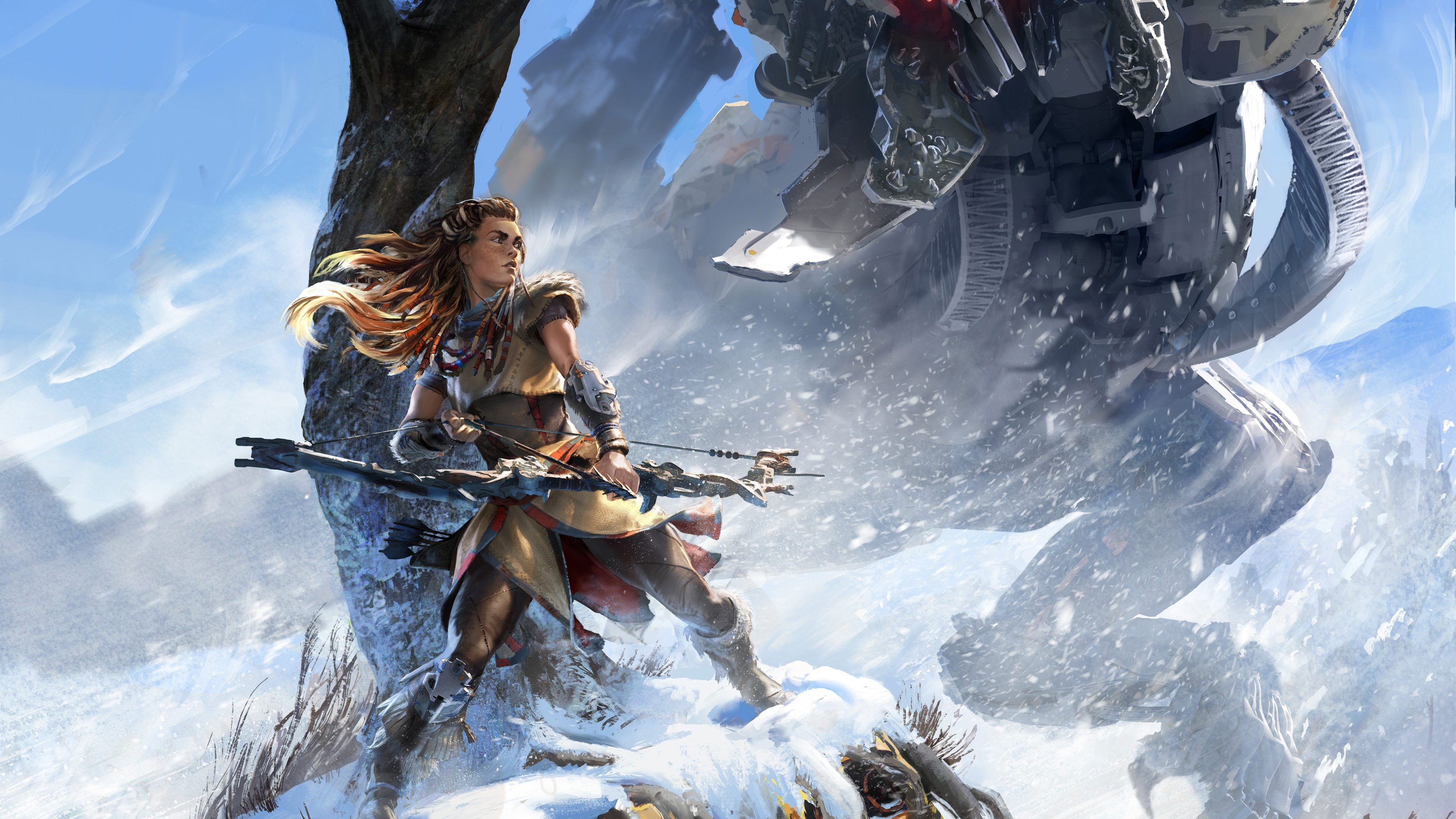 4K Horizon Zero Dawn  HD Games  4k Wallpapers  Images  Backgrounds     4K Horizon Zero Dawn