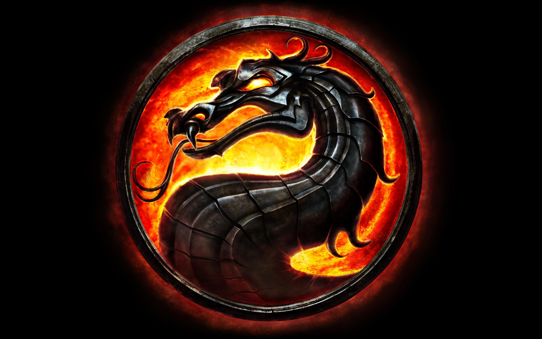 download dragon logo hd 4k wallpapers in 2048x1152 screen resolution