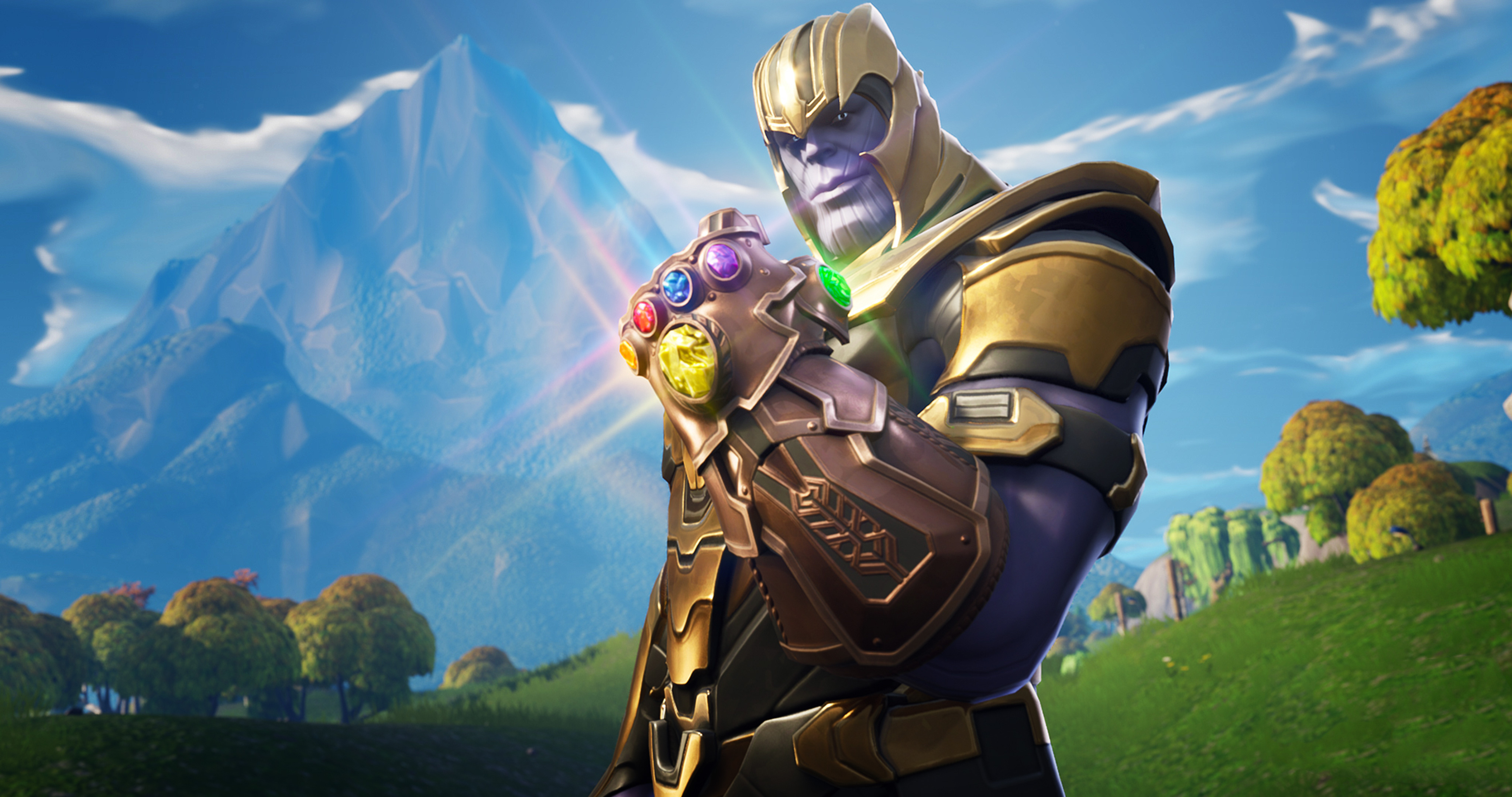 Thanos In Fortnite Battle Royale HD Games 4k Wallpapers Images Backgrounds Photos And Pictures