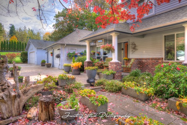 Before and After: Exterior Real Estate Photography