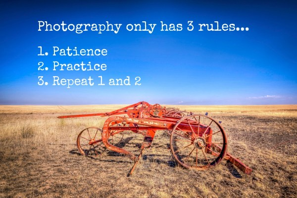 3 key rules for good photography