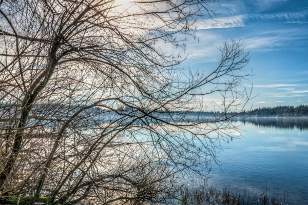 HDR Workflow: Whispers on Lake Goodwin