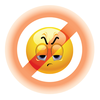 Emotion forbidden from doing something