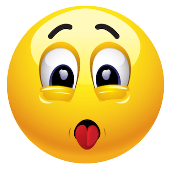 Smiley Face with Tongue Sticking Out