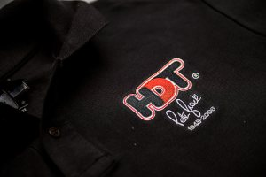 HDT Peter Brock Black Polo