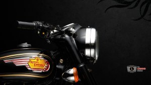 Royal Enfield Headlight wallpaper