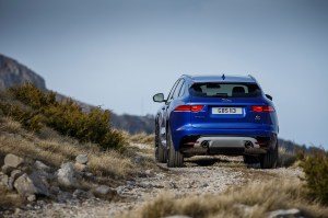 Jaguar-F-Pace-First-Edition-rear-view-off-road