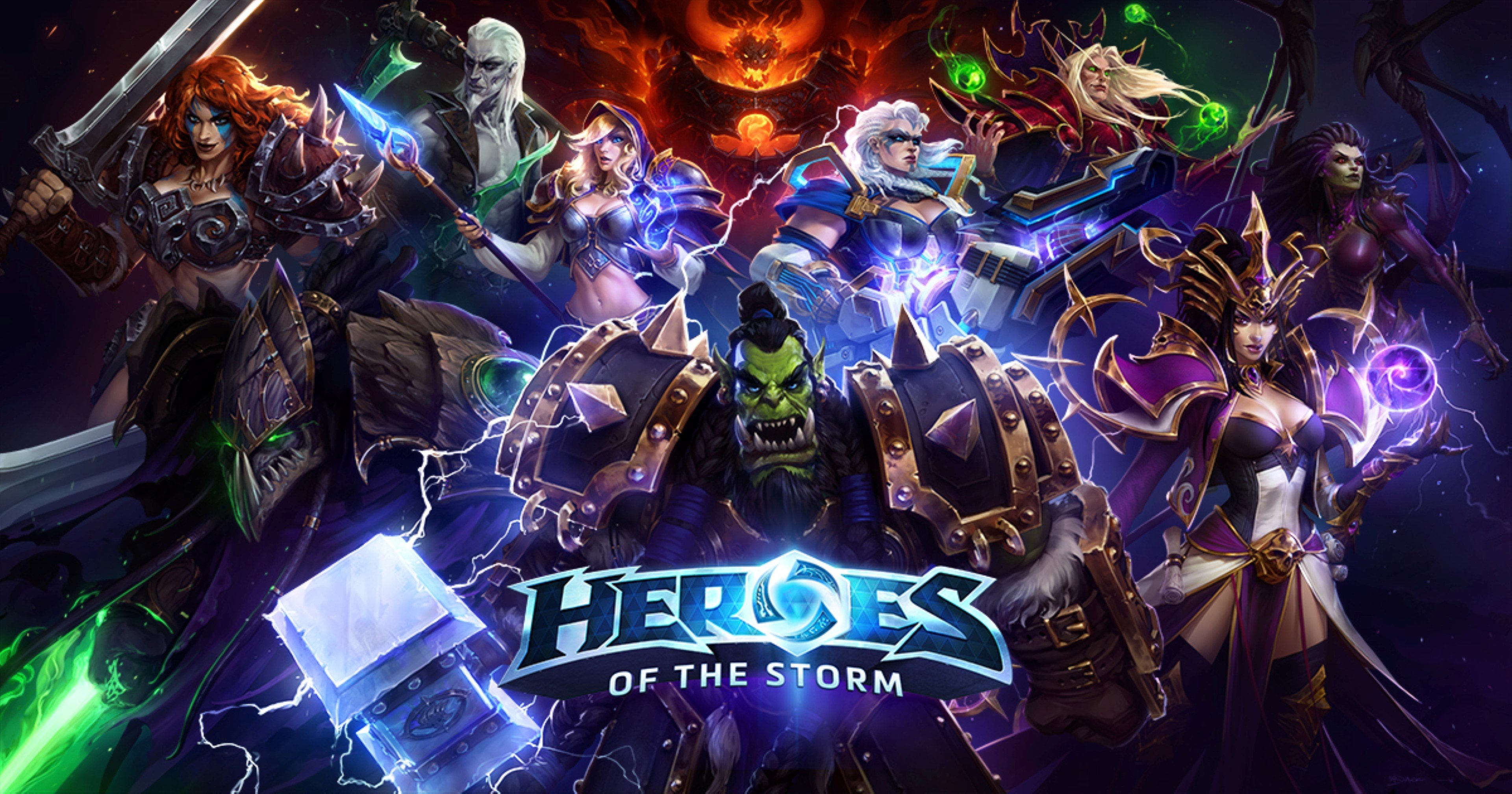 Blizzard Entertainment Heroes Of The Storm HD Wallpapers