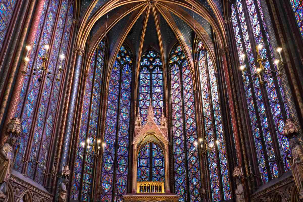 The Sainte-Chapelle