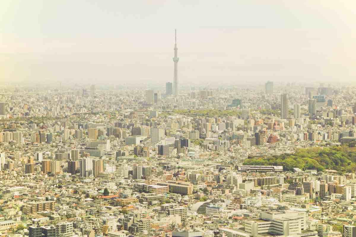 From Ikebukuro to the Tokyo Skytree