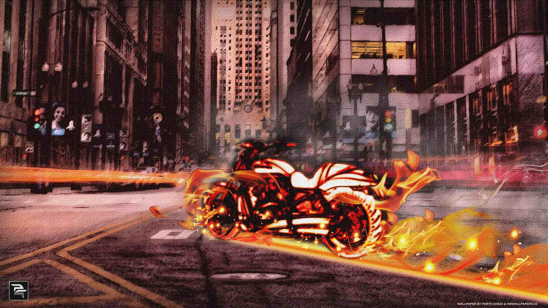 Fire bike hd wallpapers other phones tablets voltagebd Choice Image